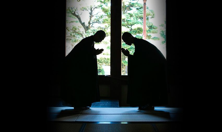 """""""Da cuore a cuore"""", l'insegnamento zen che va oltre le parole."""
