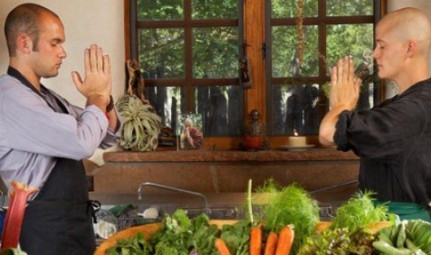 Apprendere lo Zen è un po' come imparare a cucinare da una vecchia nonna.
