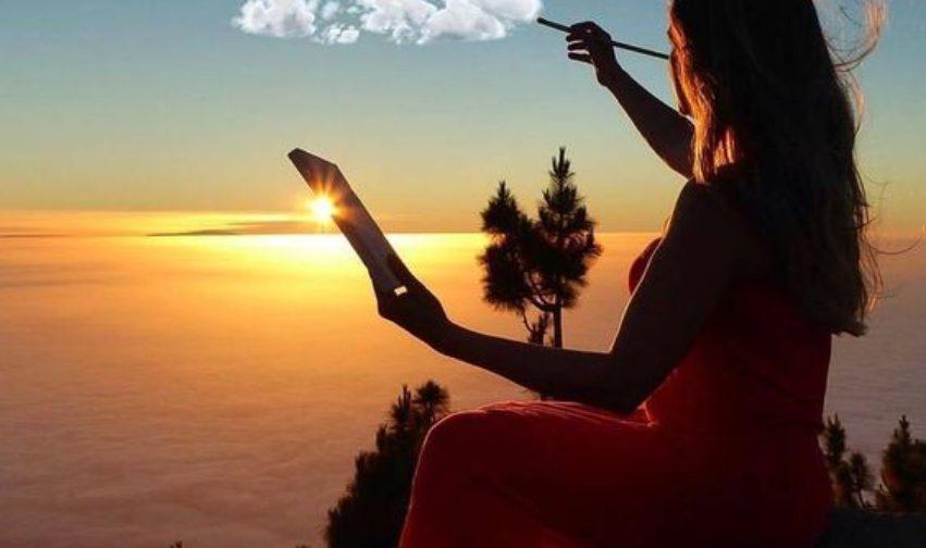 Vivi questo momento alla luce presente invece che all'ombra del passato.